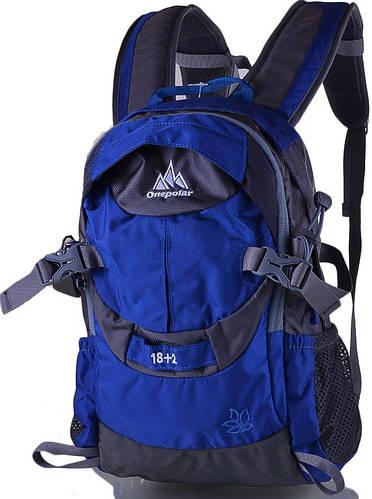 Яркий, оригинальный  женский  рюкзак ONEPOLAR (ВАНПОЛАР) W1533-elektrik синий