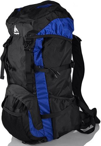Вместительный туристический рюкзак 40 л. ONEPOLAR (ВАНПОЛАР) W1208-navy синий