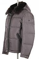 Куртка мужская с натуральным мехом (енот крашенный)