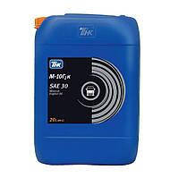 Масло моторное минеральное ТНК М-10Г2к SAE 30 (API CC)