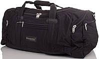 Вместительная спортивная сумка, дорожная средняя 65 л. Onepolar (Ванполар) WA808-black