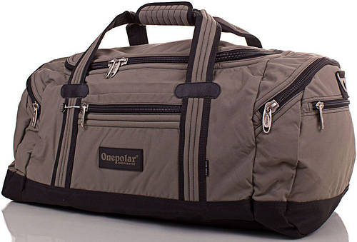 Мужская спортивная сумка, дорожная средняя 65 л. Onepolar (Ванполар) WA808-hakki