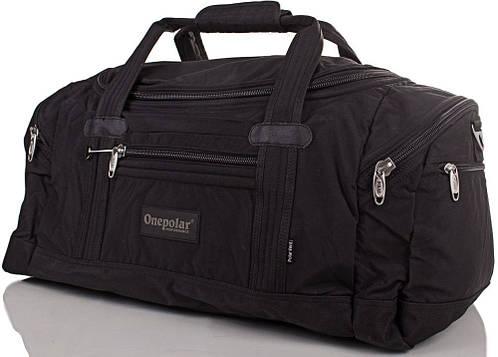 Дорожная, спортивная сумка 60 л. Onepolar (Ванполар) WB808-black
