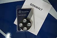 Mercedes CLS W219 W 219 колпачки насадки на соски дисков AMG новые оригинал