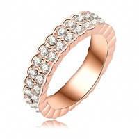 Ювелирное кольцо с кристаллами Swarovski