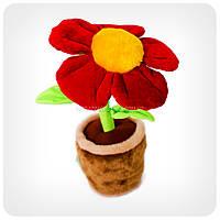 Мягкая игрушка «Цветок в горшке»