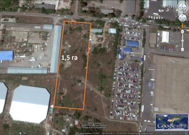 Продажа прав на промышленную территорию в Одессе
