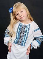 Красивая вышиванка детская для девочки
