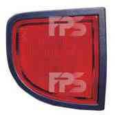 Фонарь задний для Mitsubishi L 200 '05- левый (DEPO) на крыле, нижний, с противотуманной фарой