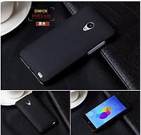 Пластиковый чехол для Meizu MX2 чёрный