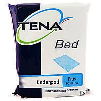 Одноразовые пеленки Tena Bed Plus 60*90 (5 шт) тена