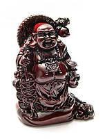 Хотей с монетами -каменная крошка (14,5х11х7 см)
