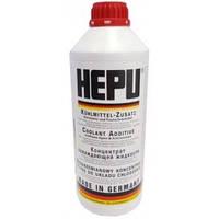 Концентрат охлаждающей жидкости (антифриз) (-80С, красный, 1.5L). HEPU Германия - P999-G12