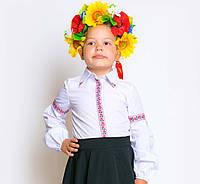Школьная блузка - вышиванка.