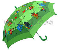 Детский зонт Zest Сказочный мир со СВЕТОДИОДАМИ (механика) арт. 21551-16