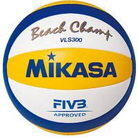Мяч пляжный волейбол Mikasa MVA 300