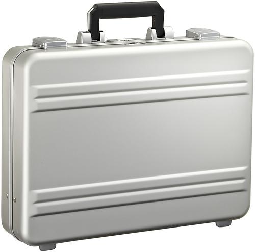 Кейс-атташе алюминиевый Premier Zero Halliburton CP3-SI серебристый