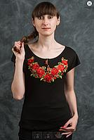 """Вышиванка футболка """"роза бутон"""" (О.Л.С.)"""