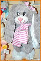 Детский плюшевый заяц 30 см | Мягкие игрушки Украина