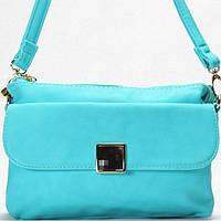 Женская сумка - клатчик Gilda Tohetti  голубого цвета