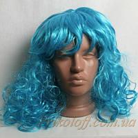 Парик МАЛЬВИНЫ, голубой