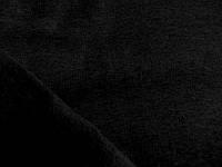 Футер трехнитка на флисе (черный) (арт. 05448) в отрезах