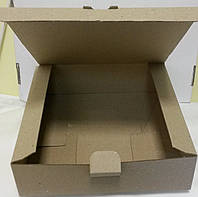 "Коробка квадратная ""крафт"" 22*11*6 (код 04172)"