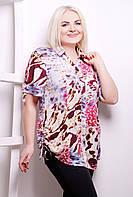Блуза-рубашка в 3-х цветах ВЕРЕВКА