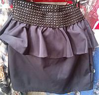 Детская юбка в школу Бант