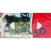 Гигиенические салфетки (платочки) универсальные мята 100шт+50шт Белла Bella