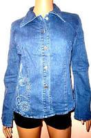 Блуза джинсовая размер M