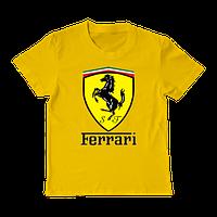 "Футболка для мальчика ""Ferrari"""