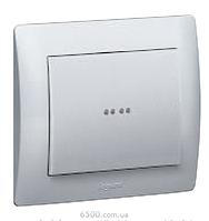 Выключатель (с подсветкой) 250В 10АХ 1-клавишный Legrand Galea Life (775600)