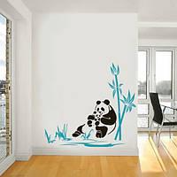 Наклейка виниловая Panda Панда