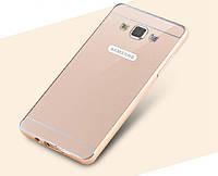 Металлический бампер для Samsung A5 с задней панелью