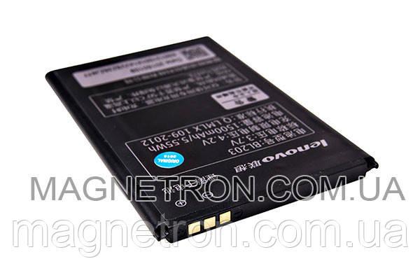 Аккумуляторная батарея BL203 Li-ion для мобильного телефона Lenovo 1500mAh, фото 2