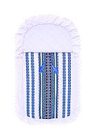 Конверт в национальном стиле для мальчика (голубой) и для девочки (красный) 1041 Flavien