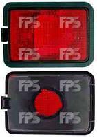 Фонарь задний для Volkswagen Transporter T4 '91-03 левый/правый (DEPO) в бампер, с противотуманной фарой