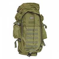 Тактический военный рюкзак 9.11 с отделением под карабин Олива, фото 1