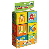 Набор мягких кубиков Азбука Vladi Toys VT1401-01 (рус)