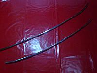 Хром накладки на решетку бампера NISSAN QASHQAI 10-14 г.в.