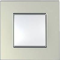 Рамка одноместная Scheider electric Unica Quadro титановый