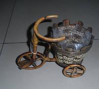 Кашпо для цветов Велосипед К11.020