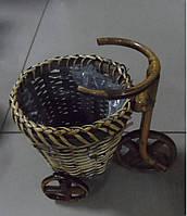 Кашпо для цветов Велосипед К11.010