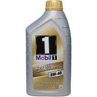 Моторное синтетическое масло MOBIL 1 New Life 0W-40 1L (ACEA A3/B4, MB 229.5, Nissan GT-R)