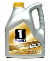 Моторное синтетическое масло MOBIL 1 New Life 0W-40 4L (ACEA A3/B4, MB 229.5, Nissan GT-R)