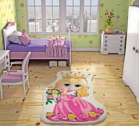 Коврик в детскую комнату Confetti Princess 100*160 фуксия