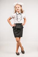 Юбка школьная для девочки ТМ Фея арт.Ю-76