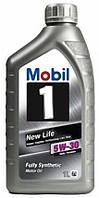 Моторное синтетическое масло Mobil 1 New Life 5W30 1L (ACEA A1B1, A5/B5)