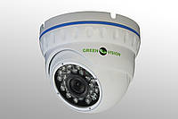 Купольная IP камера Green Vision GV-001-IP-E-DOS14-20
